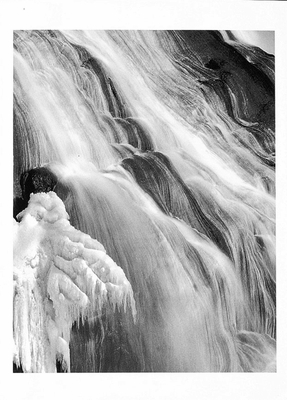 PHILIP V AUGUSTIN - GIBBON FALLS, YELLOWSTONE NATIONAL PARK - NOTECARD