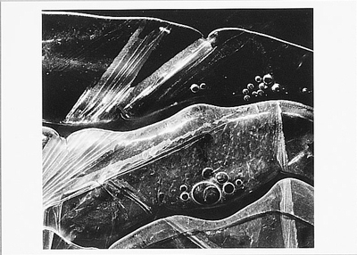 ICE, 1969 - BRETT WESTON - LARGE POSTCARD