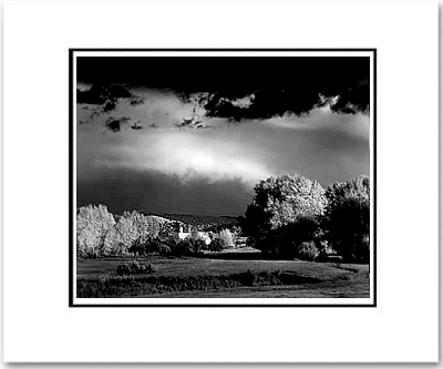 AUTUMN STORM, PENASCO, NEW MEXICO    (OUT OF STOCK)
