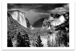 THUNDERSTORM, YOSEMITE NATIONAL PARK, CA, 1949