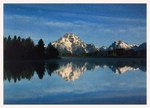 THE TETON RANGE FROM THE OXBOW OF THE SNAKE RIVER, GRAND TETON NATIONAL PARK, WY