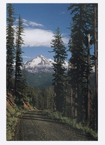 MOUNT JEFFERSON IN AUGUST, WILLAMETTE NATIONAL FOREST, OR