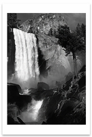 VERNAL FALL, YOSEMITE NATIONAL PARK, CA, c 1948