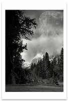 EL CAPITAN, SUNRISE, WINTER, YOSEMITE VALLEY, CA, c 1968