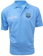 West Indies Replica Polo Shirt (Blue)