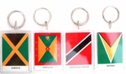 Key Chain with Flag