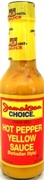 Jamaican Choice Hot Pepper Yellow Sauce
