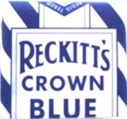 Reckitt's Crown Blue
