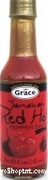 Grace Jamaican Red Hot Pepper Sauce