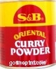 S & B Oriental Curry Powder