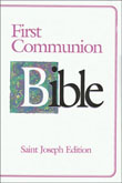 First Communion Bible NABRE Saint Joseph Edition, Girl's