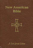 New American Bible Revised Edition, Saint Joseph Edition, Brown, Giant Print