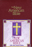 New American Bible Revised Edition, Burgundy Imitation Leather Gift Bible