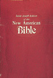 New American Bible Revised Edition, Saint Joseph Deluxe Gift Edition, Red Imitation Leather