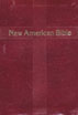 New American Bible Revised Edition, Personal Size, Burgundy Bonded Leather