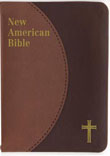 New American Bible Revised Edition, Saint Joseph Edition, Personal Size, Brown Duotone