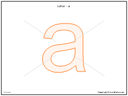 Letter - a