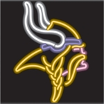 Minnesota Vikings Neon Sign