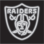 Oakland Raiders Neon Sign