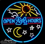 Open 24 Hours with Sun & Moon