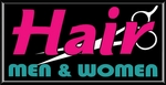 Hair Men & Women Lightbox Sign