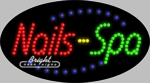Nails Spa LED Sign