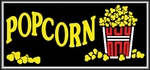 Popcorn Lightbox Sign