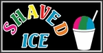 Shaved Ice Lightbox Sign
