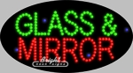 Glass & Mirror LED Sign