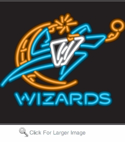 Washington Wizards Neon Sign