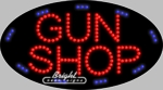 Gun Shop LED Sign