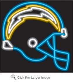 Los Angeles Chargers Neon Sign