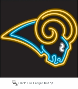 Los Angeles Rams Neon Sign