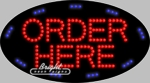 Order Here LED Sign