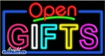 Gifts Open Neon Sign