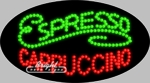 Espresso Cappuccino LED Sign