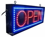 Outdoor LED Open Sign