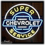 Chevrolet Service Neon Sign