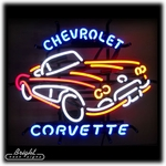 Chevy Corvette Neon Sign