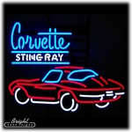 Corvette Stingray Neon Sign