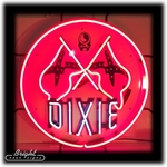 Dixie Oil Neon Sign