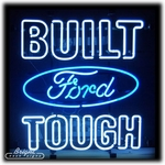 Ford Built Tough Neon Sign