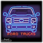 Ford Trucks Neon Sign