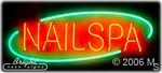 Nails Tech Spa Neon Sign