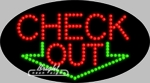 Check Out LED Sign