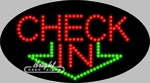 Check In LED Sign