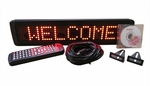 1 Line Indoor Programmable LED Sign