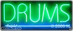 Drums Neon Sign
