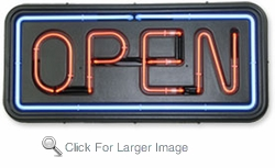 Cheap Open Neon Sign