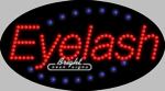 Eyelash LED Sign